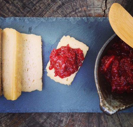 Brie com Geléia de Morango
